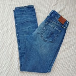 Lucky Brand Distressed Lola skinny jeans